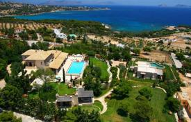 Luxury houses for sale in Porto Cheli. Villa with guest house, separate apartment and panoramic sea views in the exclusive area close to the villas of celebrities, Porto Heli
