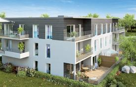 Cheap new homes for sale in Auvergne-Rhône-Alpes. Apartment in a newly built complex in Saint-Genis-Pouilly just 10 km from Geneva