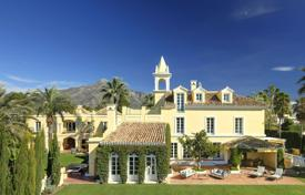 Luxury villas and houses for rent in Costa del Sol. Villa Ramires, Nueva Andalucia, Marbella
