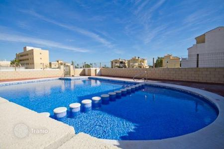Bank repossessions apartments in Europe. Comfortable apartment with sea view, Campoamor, Spain