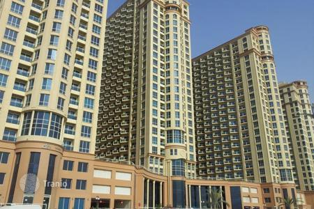 Cheap apartments with pools for sale in Western Asia. Cozy apartment at an attractive price in the area IMPZ, Dubai