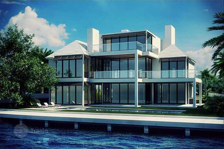 5 bedroom off-plan houses for sale overseas. Luxury villa overlooking the canal New River, Fort Lauderdale, Florida