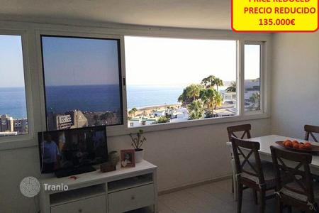 Cheap 2 bedroom apartments for sale in Gran Canaria. Apartment with sea views in San Agustin
