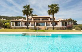 Modern villa with a pool, terraces and countryside views, Santa Eulalia, Ibiza, Spain for 10,000 € per week