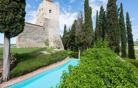 Ancient castle with a swimming pool, Chianti, Italy. Price on request