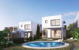 Off-plan houses for sale in Cyprus. Villas with a fantastic view to the picturesque countryside sceneries in a prestigious village Konia, Pafos, Cyprus
