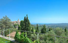 3 bedroom houses for sale in Côte d'Azur (French Riviera). Saint-Paul de Vence — Panoramic sea view