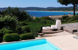Saint-Tropez — Gated domain — sea view. Price on request