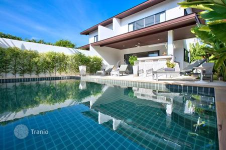 Residential for sale in Thailand. Designer villa near the beach Plai Laem, Thailand