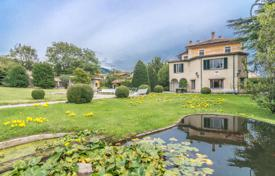 Historic villa on a hill with a large park, garages and greenhouses in a quiet area, Erba, Italy for 1,600,000 €
