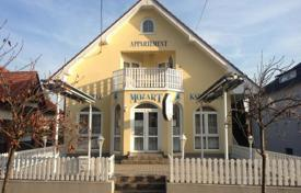 Houses for sale in Zala. Two-level house with a cafe near the center of Hévíz, Hungary