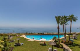 Premium apartment in complex with pools, garden and fitnes-club, on the first sea line, Malaga, Spain for 420,000 €