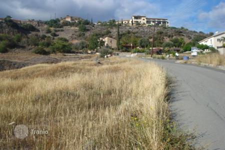 Land for sale in Akrounta. Building Plot