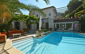 4 bedroom houses for sale in France. Villa with terraces, a garden, a pool and a garage in a secured private housing, Nice, France