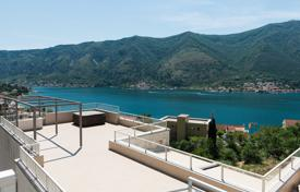 Coastal apartments for sale in Kotor. 2 bedroom apartment in residential complex with pool