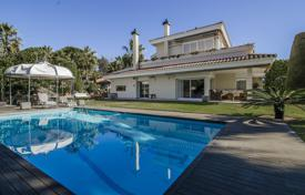 Luxury villa with a garden, a swimming pool and a jacuzzi, in a prestigious area, close to the beach, Calella, Spain for 3,000,000 €