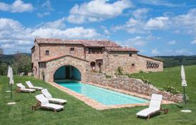 Residential for sale in Pienza. Unique house with a terrace, a garden and a swimming pool in one of the most popular places of Tuscany, Italy