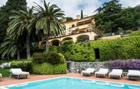 Amazing villa located on a hill with panoramic views of the sea in Liguria for 10,000,000 €