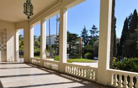 4 bedroom apartments for sale in Nice. Duplex with a spacious terrace, in a historic palace with a park, Nice, France