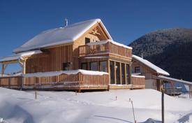 Property for sale in Steiermark. New two-level chalet in the ski resort in the Alps, Styria