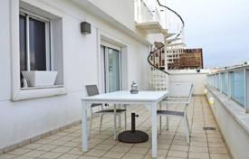 Coastal apartments for sale in Sitges. Two-level penthouse with panoramic sea views in Sitges, Barcelona, Spain