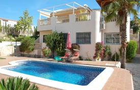 Houses with pools for sale in Altea. Spacious two-level villa with a terrace and a pool close to the golf course, Las Ramblas, Spain