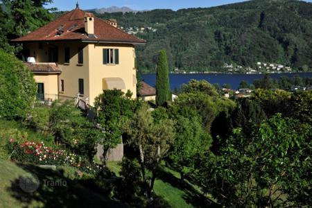 6 bedroom houses for sale in Central Europe. Villa – Ticino, Switzerland