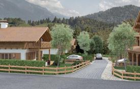 Residential from developers for sale in Germany. Two-level new cottage with plot of land from the builder in the ski resort of Garmisch-Partenkirchen, Germany