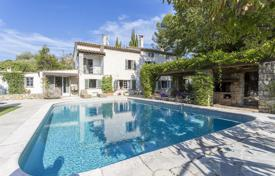 3 bedroom houses for sale in Mougins. An ancient villa with a garden, terraces, a summer living room and a swimming pool, Mougins, France