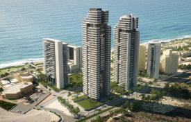3 bedroom apartments for sale in Israel. New apartment with spacious balcony in a prestigious residential complex overlooking the sea in Netanya, Israel