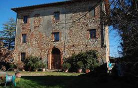 Houses for sale in Montepulciano. Stone three-storey villa of the XVIII century with a large plot in Montepulciano, Tuscany, Italy
