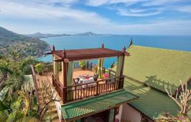 Coastal buy-to-let apartments in Surat Thani. Villa with a private pool and a panoramic terrace, surrounded by a beautiful natural area of Chaweng Noi, Koh Samui