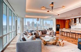 Apartment with a view of the city and bay, in Baltimore, USA. Modern condominium with pools, a spa, lounges, a restaurant, a conference room for $12,400,000