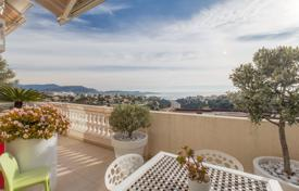3 bedroom apartments for sale in Nice. Two-level seaside apartment with a terrace, a private garden and a garage in a residence with a pool, Fabron, Nice, France