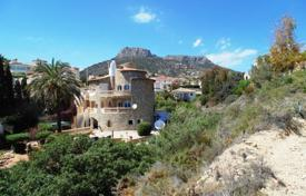 6 bedroom houses for sale in Valencia. Villa – Calpe, Valencia, Spain