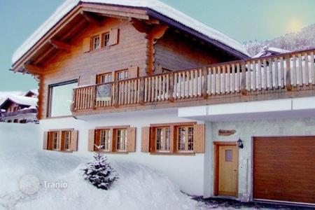 Luxury residential for sale in Alps. Magnificent chalet in the ski resort of Nendaz, Switzerland