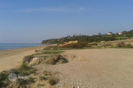 Coastal land for sale in Kyllini. Killini. Seaside area of 70.000 m² is for sale