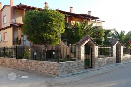 Coastal residential for sale in Porto Rafti. Townhouse with an elevator, at 150 meters from the sea, Porto Rafti, Greece. Landscaped garden with a barbecue area and a gazebo