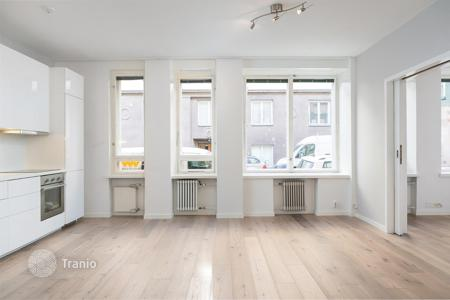 Commercial property for sale in Finland. Office with a kitchen and a bathroom, in a reconstructed building with a rooftop terrace, Helsinki, Finland