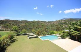 4 bedroom houses for sale in Malaga. Superb Modern Contemporary Villa in Los Arqueros, Benahavis