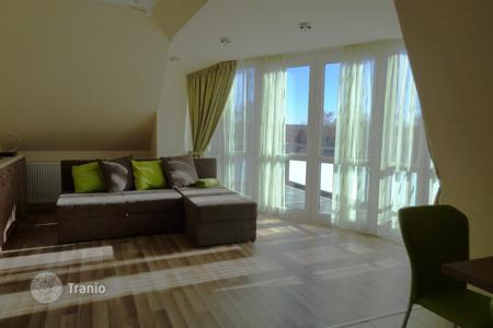 1 bedroom apartments for sale in Zala. In Hévíz small apartment with a panoramic view for sale