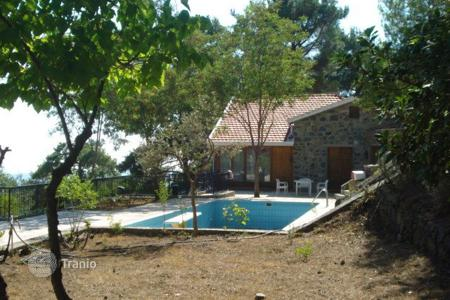 Luxury houses for sale in Pano Platres. Five Bedroom Stone Built Detached House
