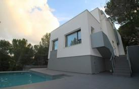 New villa with a private garden, a swimming pool, a parking, a terrace and a sea view, Peguera, Spain for 1,350,000 €