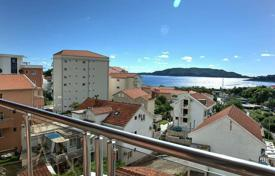 Spacious luxury apartment with a parking, a terrace and a sea views, Becici, Montenegro for 250,000 €