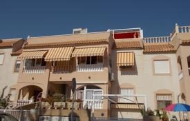 Cheap residential for sale in Costa Blanca. Modern apartment on the top floor with a terrace, a solarium on the roof and a lake view, Los Balcones, Spain