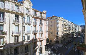 Cheap 2 bedroom apartments for sale in France. Two-bedroom apartment with a balcony and high ceilings, 500 meters from the sea, Nice, France. High rental potential!
