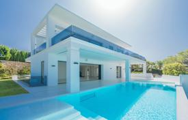Stylish new villa with two swimming pools, Golden Mile, Marbella, Spain for 3,995,000 €
