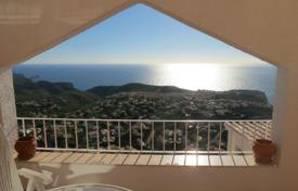 Apartments for sale in Cumbre. Apartment of 2 bedrooms with pool and panoramic sea views in Benitachell