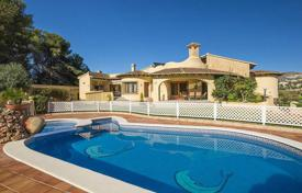 Luxury 5 bedroom houses for sale in Moraira. Luxury villa with a large plot, a garden and a swimming pool close to the beaches, Moraira, Spain