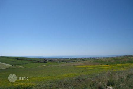 Land for sale in Paphos. Plot for sale Unobstructed Sea View — Anarita, Close to airport
